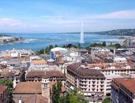EVJF et anniversaire à Genève